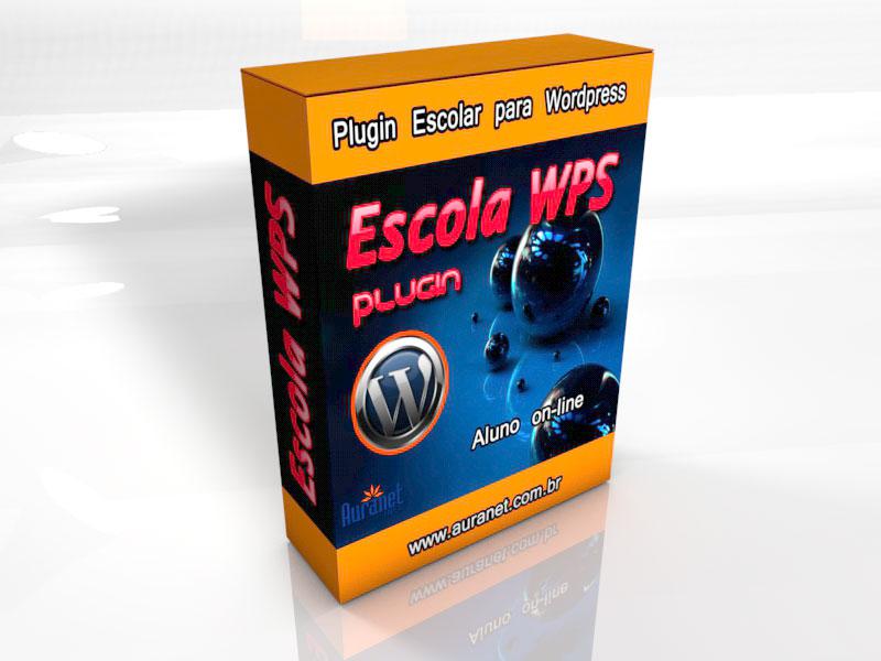 Sistema Escolar Online para WordPress – Aluno Conectado